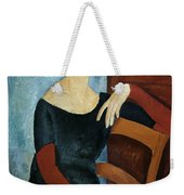 The Artist's Wife Weekender Tote Bag by Amedeo Modigliani
