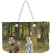 The Artist's Wife And Daughters In A Park At Heringsdorf Weekender Tote Bag