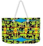The Arts Of Textile Designs #3 Weekender Tote Bag
