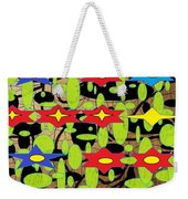 The Arts Of Textile Designs #42 Weekender Tote Bag