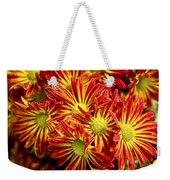 Chrysanthemum Bouquet Weekender Tote Bag