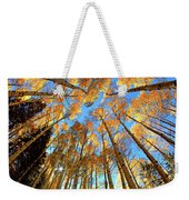 The Aspens Above - Colorful Colorado - Fall Weekender Tote Bag