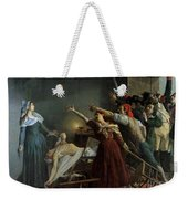 The Assassination Of Marat Weekender Tote Bag by Jean Joseph Weerts