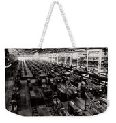 The Assembly Plant Of The Bell Aircraft Corporation In 1944 Weekender Tote Bag