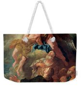 The Assumption Of The Virgin Weekender Tote Bag by Jean Francois de Troy