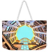 The Atrium At Casa Mila Weekender Tote Bag