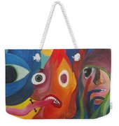 The Audience Weekender Tote Bag