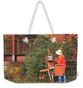 The Autumn Painter Weekender Tote Bag