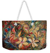 The Autumn Wind Weekender Tote Bag