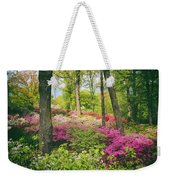 The Azalea Woodland Weekender Tote Bag