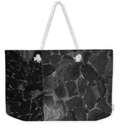 The B And W Wall Weekender Tote Bag