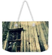 The Back Of An Old House On My Farm Weekender Tote Bag