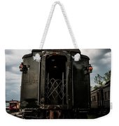 The Back Of The Train Weekender Tote Bag