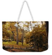 The Back Way Weekender Tote Bag