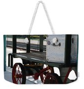 The Baggage Cart And Truck Weekender Tote Bag