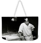 The Baker Weekender Tote Bag by Dave Bowman