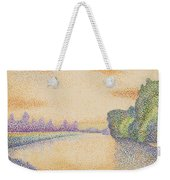 The Banks Of The Marne At Dawn 1888 Weekender Tote Bag