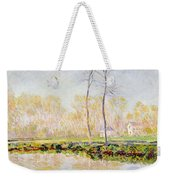 The Banks Of The River Epte At Giverny Weekender Tote Bag