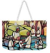 The Baptism Weekender Tote Bag