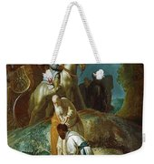 The Baptism Of The Eunuch After Rembrandt Harmenszoon Van Rijn Weekender Tote Bag