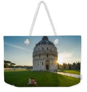 The Baptistery, Piazza Dei Miracoli Weekender Tote Bag