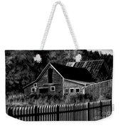 The Barn Bw  Weekender Tote Bag