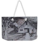 The Barn Country Pen And Ink Drawing Weekender Tote Bag