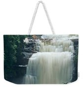 The Base Of Angel Falls In Canaima National Park Venezuela Weekender Tote Bag