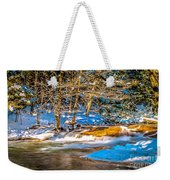 The Basin At Franconia Notch Weekender Tote Bag
