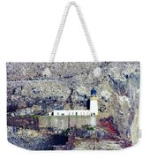 The Bass Lighthouse Weekender Tote Bag