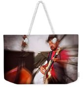 The Bass Player Weekender Tote Bag