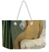 The Bather Weekender Tote Bag by Jean Auguste Dominique Ingres