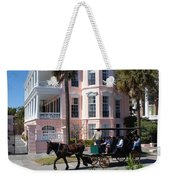 The Battery In Charleston Weekender Tote Bag