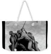 The Battle For Iwo Jima By Todd Krasovetz Weekender Tote Bag