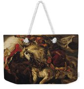 The Battle Of Giaour And Hassan Weekender Tote Bag