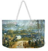 The Battle Of Kenesaw Mountain Weekender Tote Bag by American School