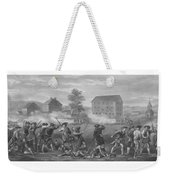 The Battle Of Lexington Weekender Tote Bag by War Is Hell Store