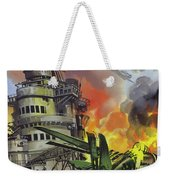 The Battle Of Midway Weekender Tote Bag
