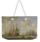 The Battle Of Scheveningen Weekender Tote Bag