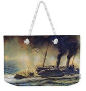 The Battle Of The Gulf Of Riga Weekender Tote Bag
