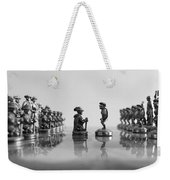 The Battle Will Start Weekender Tote Bag