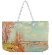 The Bay And The River Weekender Tote Bag by Jean Baptiste Armand Guillaumin