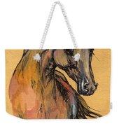 The Bay Arabian Horse 9 Weekender Tote Bag