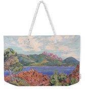The Bay Of Agay Weekender Tote Bag