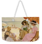 The Beach Weekender Tote Bag by Alfred Victor Fournier