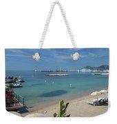 The Beach At Cannes Weekender Tote Bag