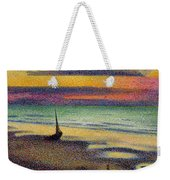 The Beach At Heist Weekender Tote Bag by Georges Lemmen