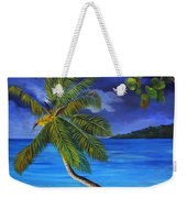 The Beach At Night Weekender Tote Bag