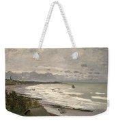 The Beach At Sainte Adresse Weekender Tote Bag by Claude Monet