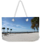 The Beach At The Isle Dauphine Weekender Tote Bag